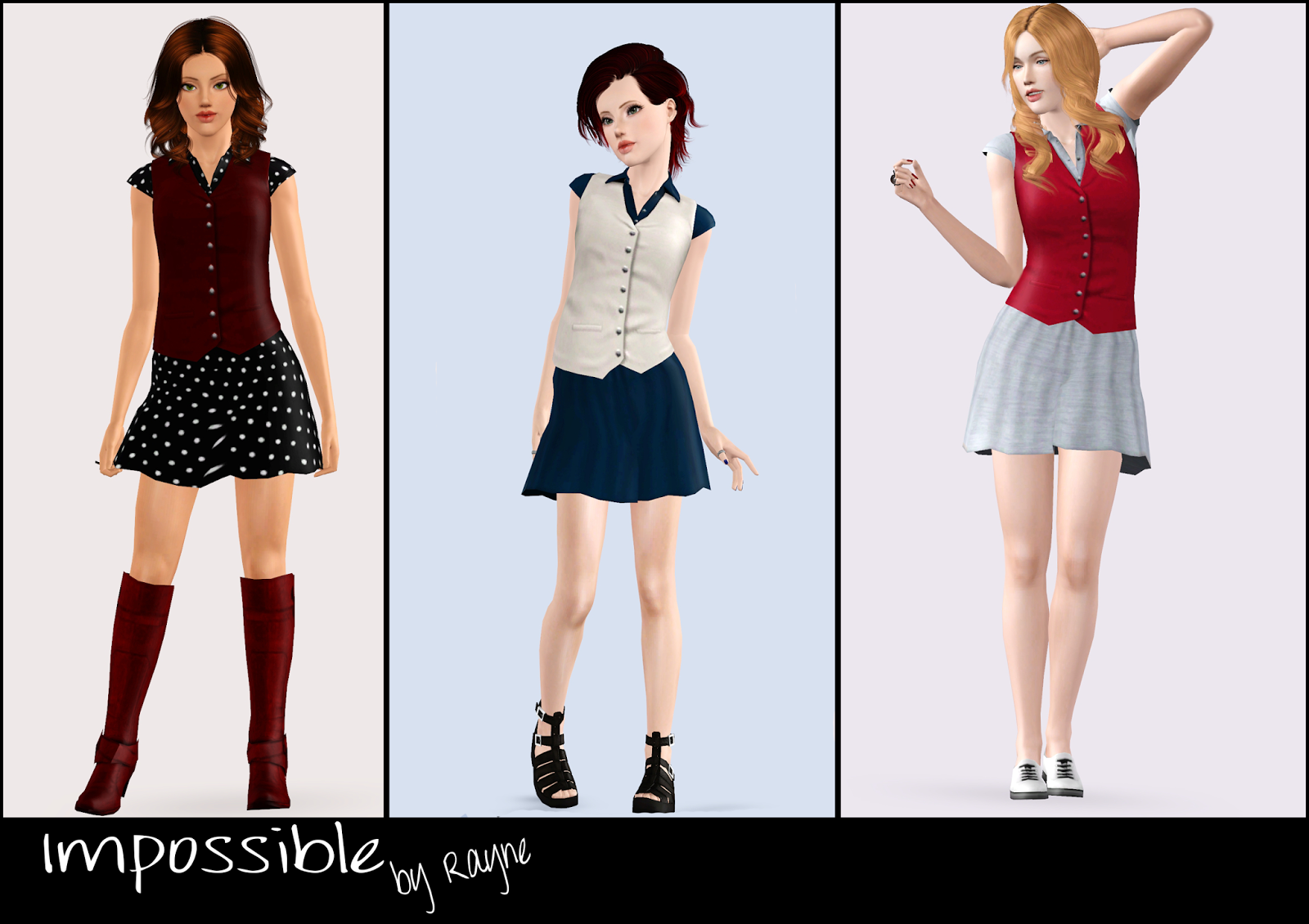 "sims 3 fun time: Spring Grace"" - Suede Boots For Females (Teen to ..."