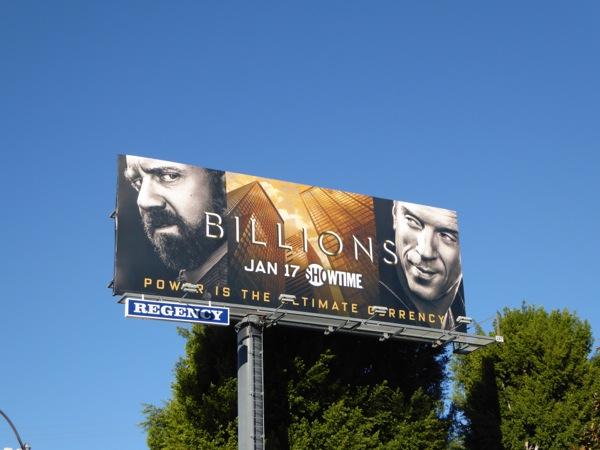 Billions season 1 billboard