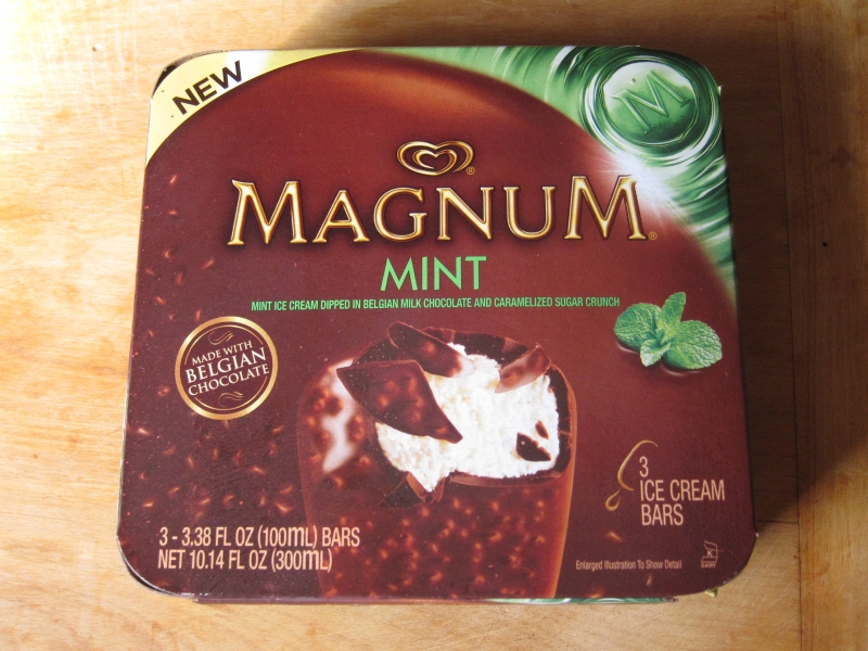 review magnum mint ice cream bars brand eating