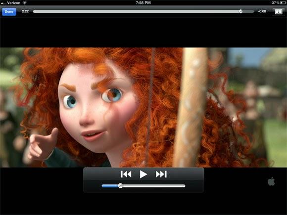 play video on iPad