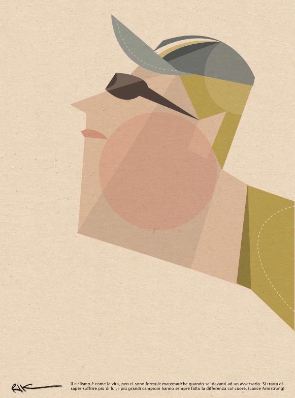 Cyclists. Riccardo Guasco. Doctor Ojiplático