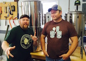 Shawn O'Marro and Mike Schlosser of Highholder Brewing Company