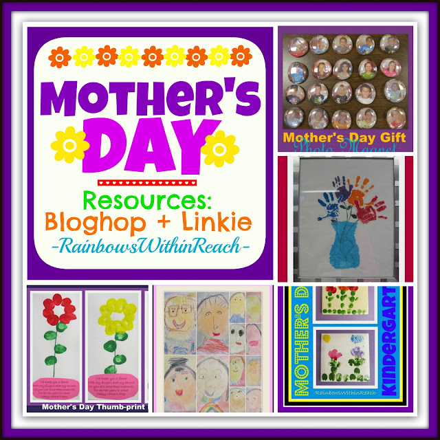 Mother's Day RoundUP of Resources: Bloghop + LInkie at RainbowsWithinReach