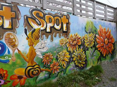 Sweet Spot - Fremont Mural