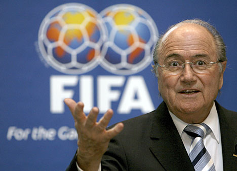 Blatter continues as President as his minions rally around him