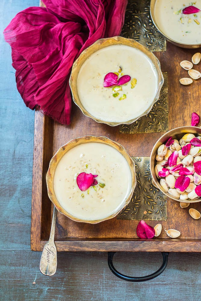 how to make rice kheer with jaggery