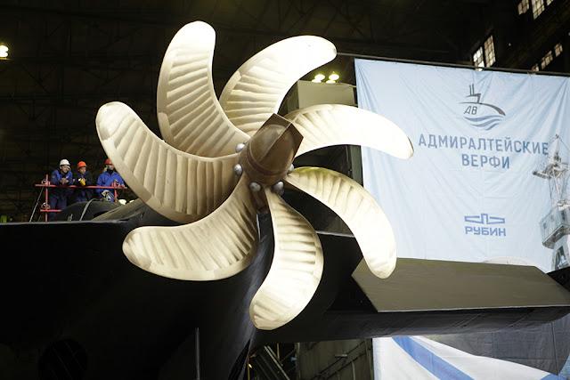 The screw of the Improved-Kilo Stary Osko