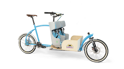 Bringley the family cargo bike built in London UK by Porterlight Bicycles