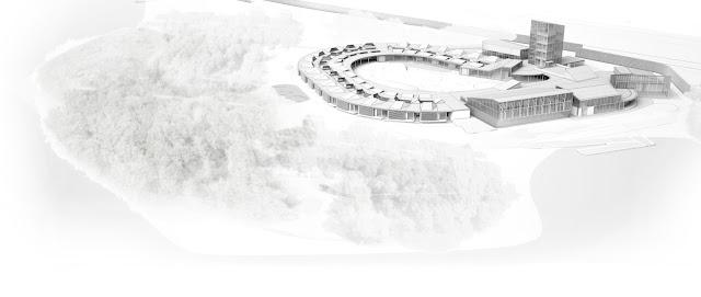 RENDERS 3D PFC - Fotomontaje en Almere para el PFC ETSAM de Joaquín Rodríguez Peña - ETSAM UEM UCJC ESAYT USPCEU USP CEU IE UAX UAH UPM ETSA