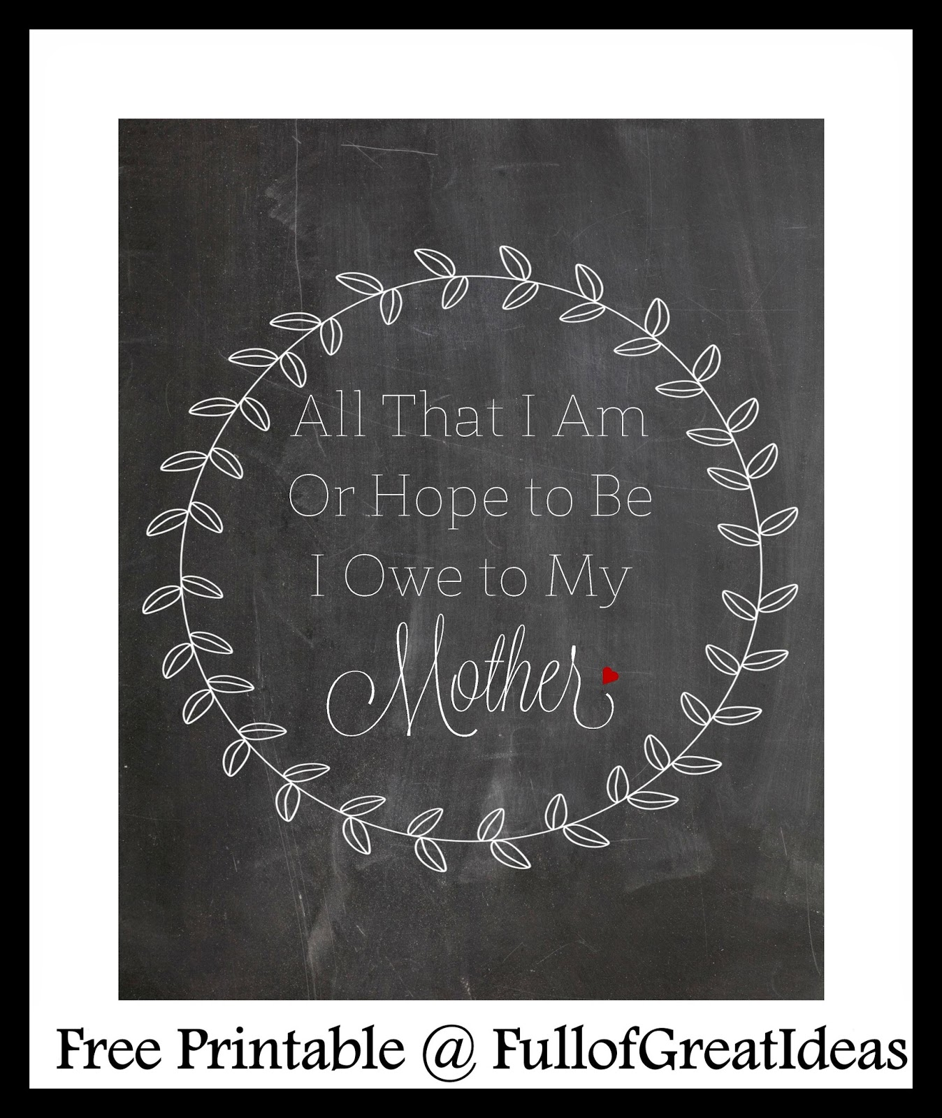 Motheru0027s Day Quotes   Two Free Printables
