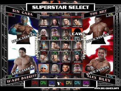 WWE Raw Ultimate Impact Setup Download