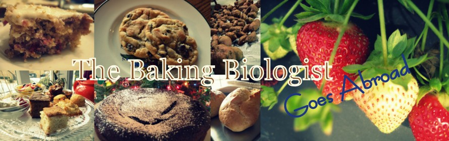 The Baking Biologist Goes Abroad