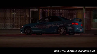 The Fast and The Furious Acura Integra 4 doors