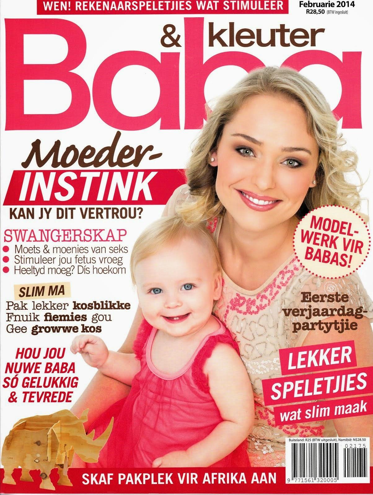 Baba en Kleuter Magazine February 2014