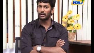 Vishal speaks about romance – Exclusive Video Interview