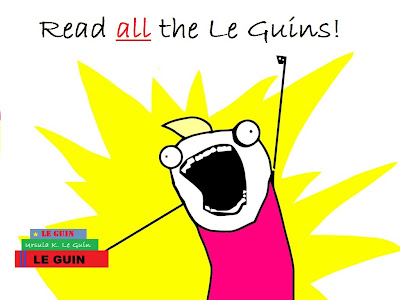 Read ALL the Le Guins!
