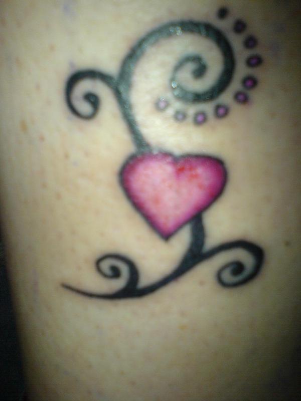 Heart Tattoo Designs For Girls