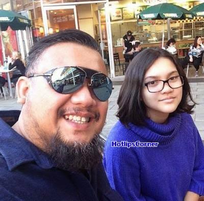5 Foto Wajah Jelita Anak Gadis Afdlin Shauki Yellow Feed