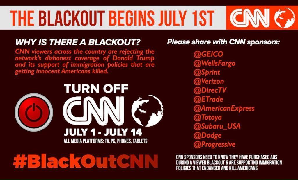 1 a 14 de julho: #BlackOutCNN