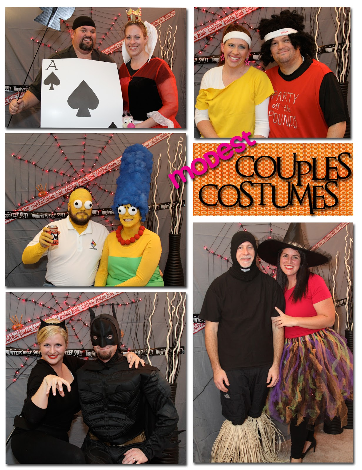 Modest adult costumes
