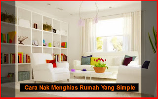 cara menghias rumah yang simple
