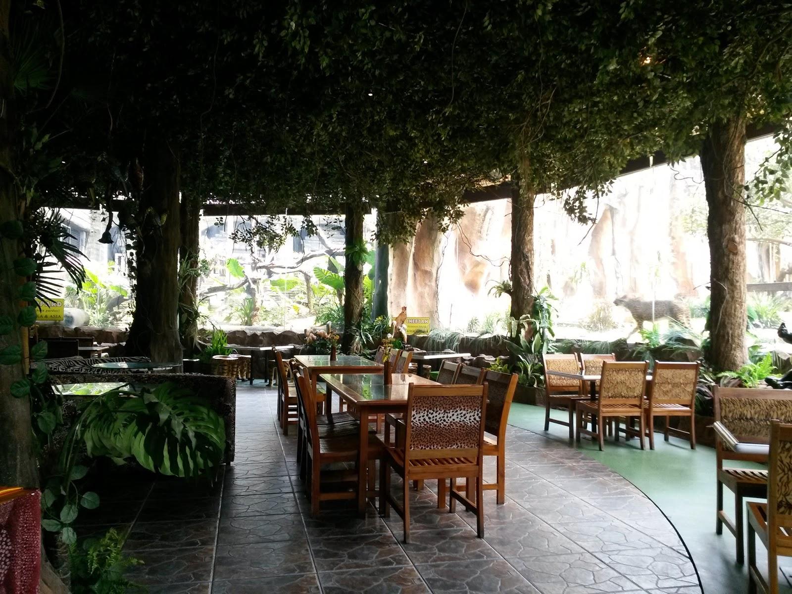 Berani Makan Bareng Singa dan Harimau di 3 Restoran Indonesia Ini ...