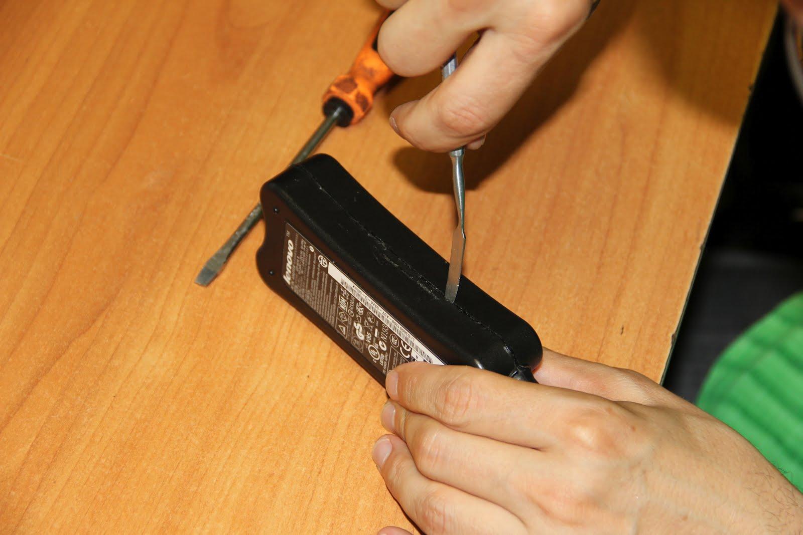 Блока питания ноутбука своими руками