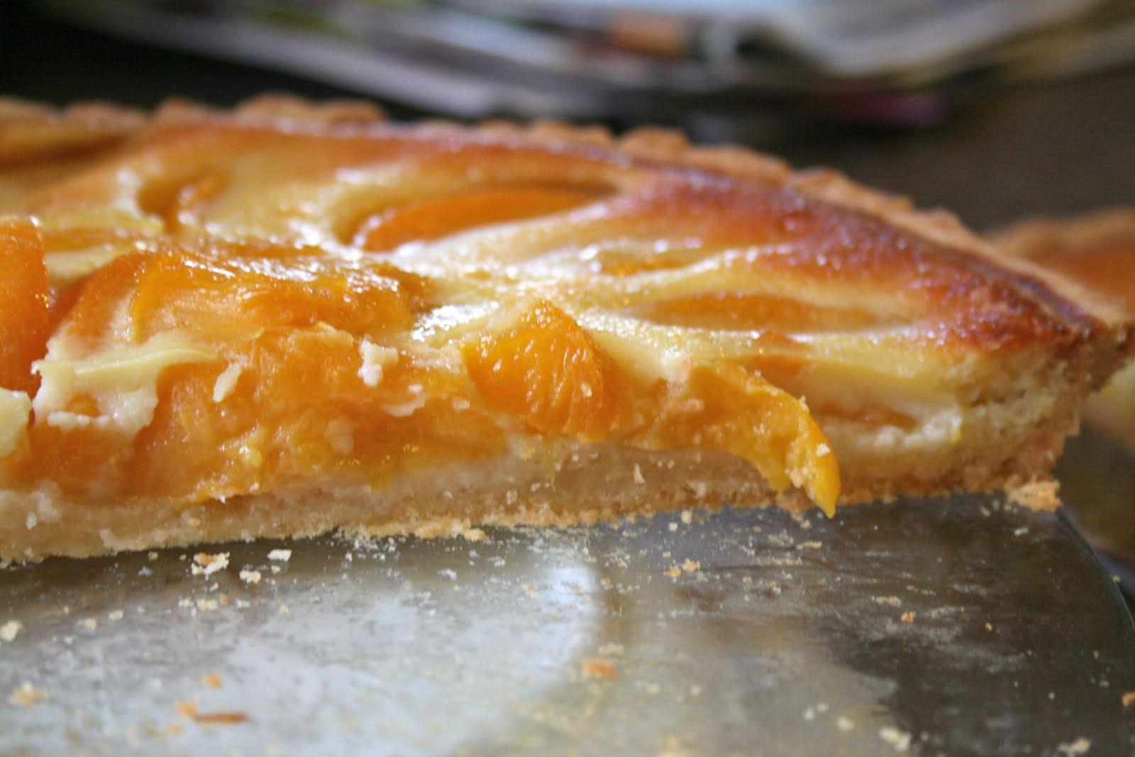 Bake - a - holic: Peach Custard Tart