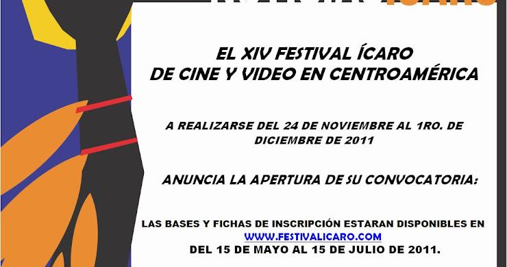 El XIV Festival Ícaro de Cine y Vídeo en Centroamérica anuncia la apertura de su convocatoria!