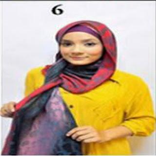 Cara Memakai Jilbab Kreasi Jilbab Amna Style Untuk Pergi Ke Pesta