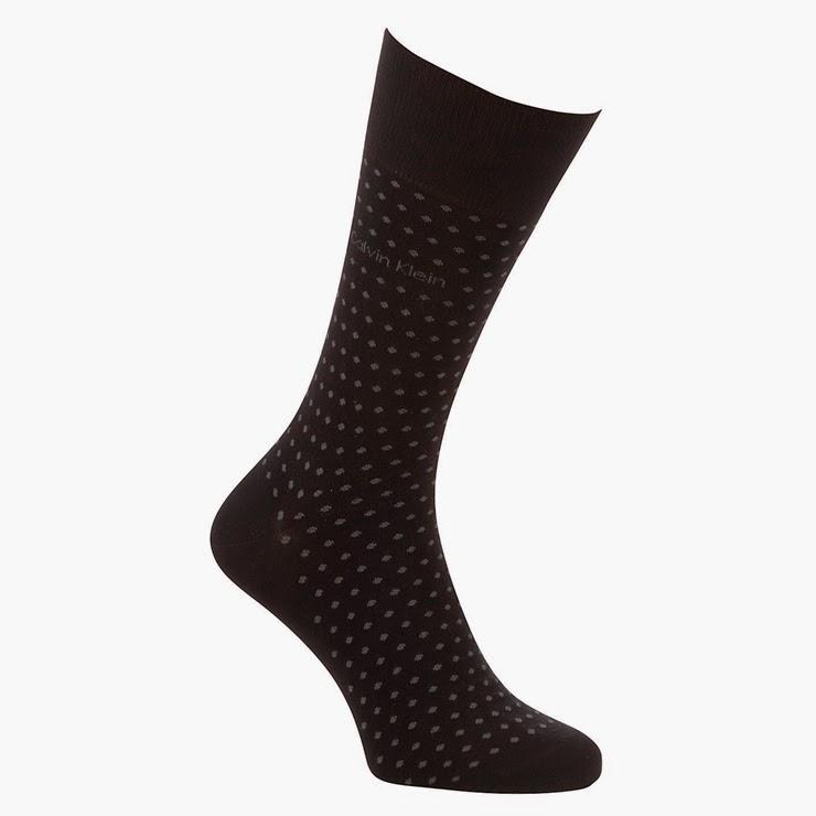 Calvin Klein Pin Dot Socks