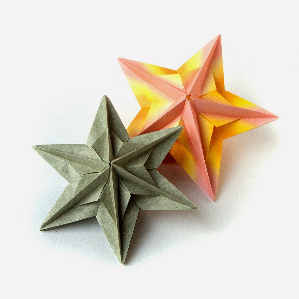 origami maniacs liberty origami star by kate lukasheva