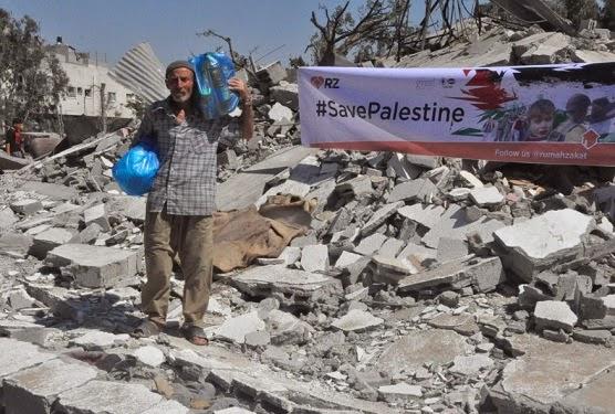 Bantuan Indonesia via RZ tiba di Gaza