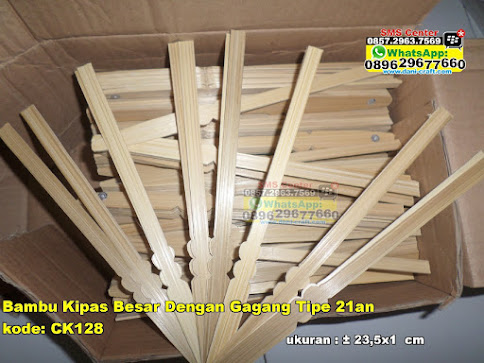 Bambu Kipas Besar Dengan Gagang Tipe 21an jual