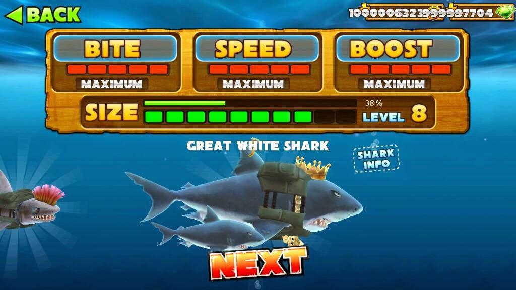 Hungry Shark Evolution Cheats and Cheat Codes, iPhone/iPad