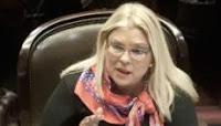 CARRIÓ DENUNCIÓ AL SECRETARIO DE COMUNICACIONES POR ENCUBRIMIENTO A BOUDOU