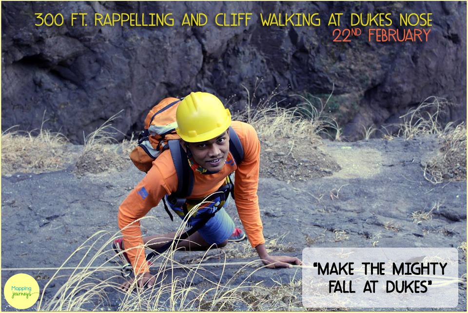 300 ft. Rappelling & Cliff Walking at Dukes Nose !