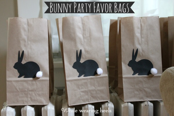 While wearing heels bunny favor bags bunny favor bags negle Gallery