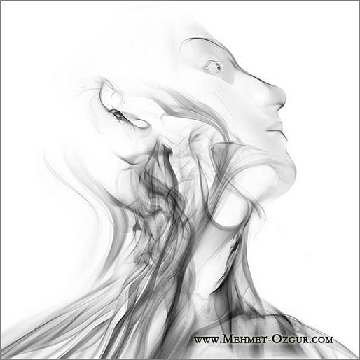 mehmet ozgur pinturas fumaça fotografia digital manipulação photoshop