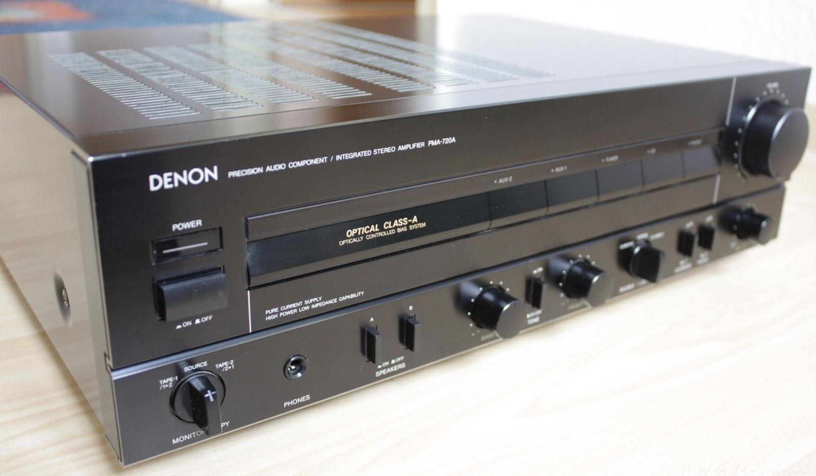 denon pma 720 integrated amplifier audiobaza. Black Bedroom Furniture Sets. Home Design Ideas