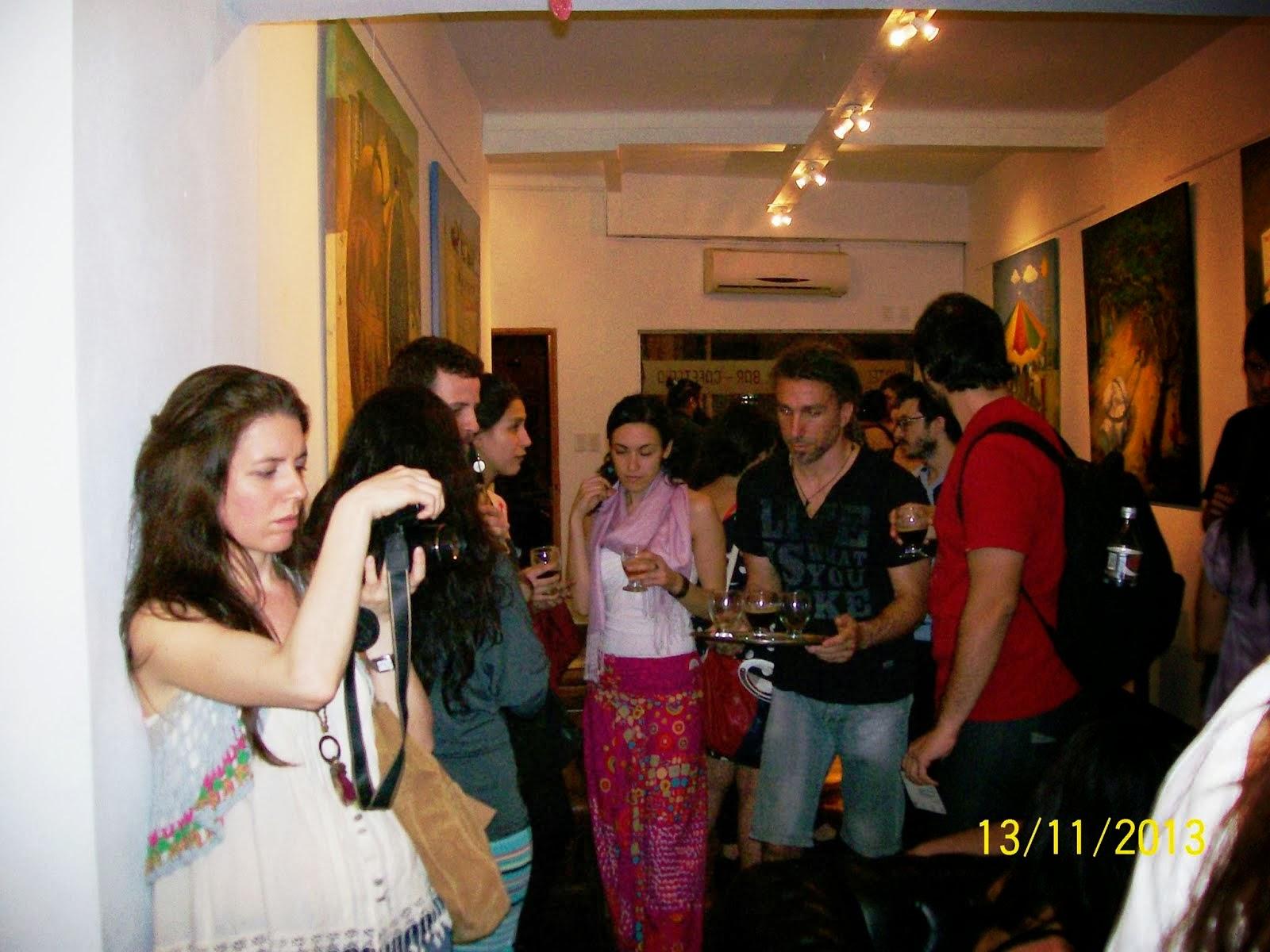 Muestra en Galería Pollock