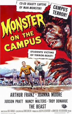 Poster - Monster on the Campus (1958)