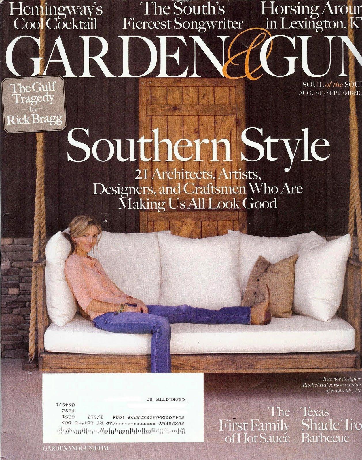 Dressed Up. Buttoned Down. Read This Garden \u0026 Gun Magazine