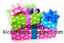 Blogcandy bij 275 volgers bij KiCo Stamps
