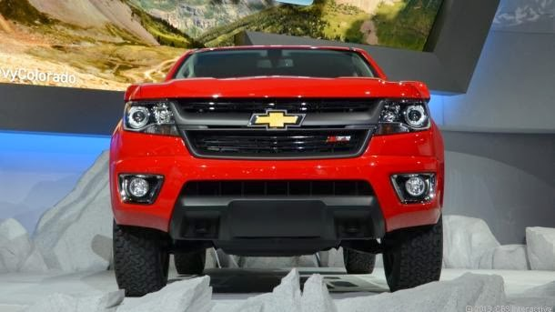 2015 Chevy Colorado Gets Manual Transmission