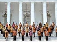 Susunan Nama Menteri Kabinet Kerja Jokowi JK 2014-2019