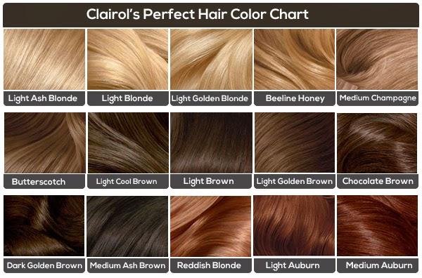 Clairol Hair Color Shades
