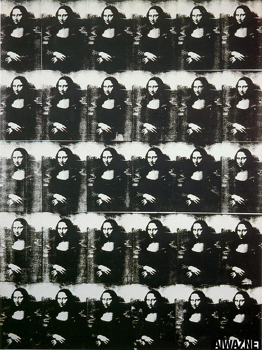leonardo vs andy warhol s mona lisa Mona lisa, 1963 by andy warhol pop art portrait.