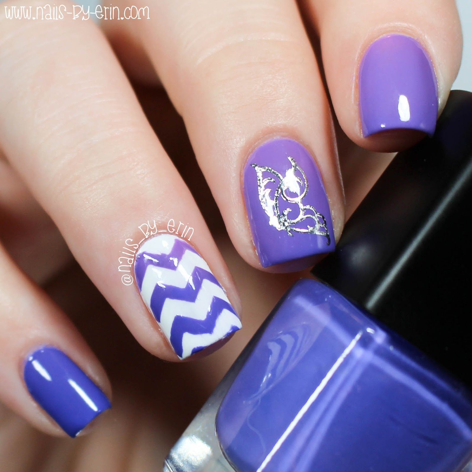 Nail Cake Born Pretty Store Review: NailsByErin: Thermal Butterfly Decal Nails