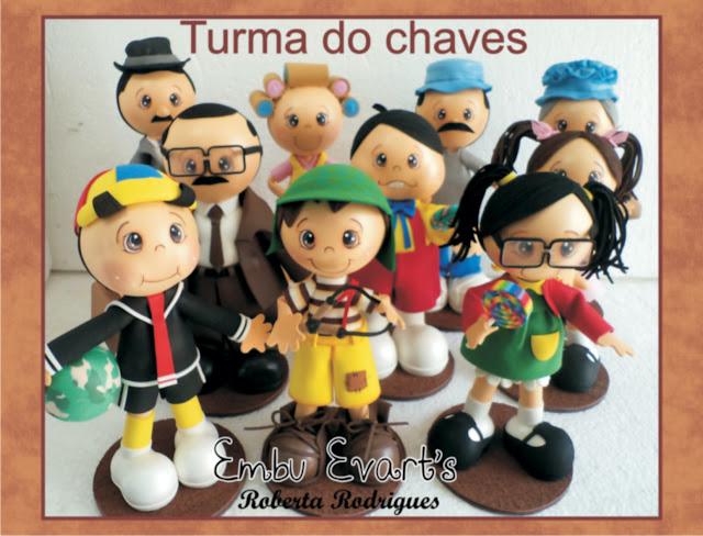 personagens seriado de televisão humoristico mexicano